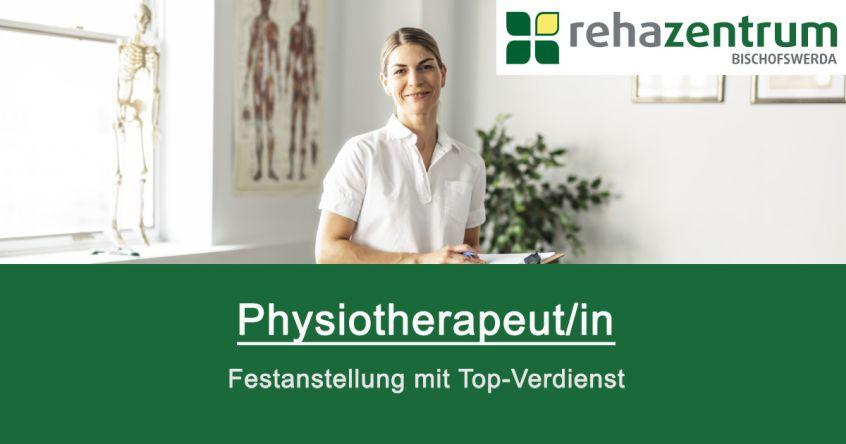 Stellenanzeige Physiotherapeut/in in Bischofswerda, Vollzeit, Festgehalt + Provision