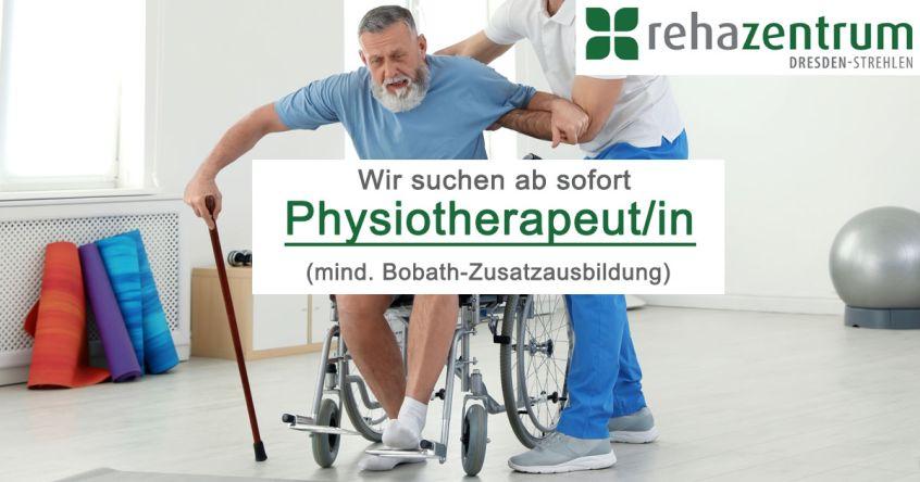 Stellenanzeige Physiotherapeut/in mit Bobath, in Dresden und Pirna, Vollzeit, Festgehalt + Provision