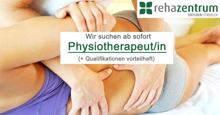 Stellenanzeige Physiotherapeut/in in Dresden, Vollzeit, Festgehalt + Provision